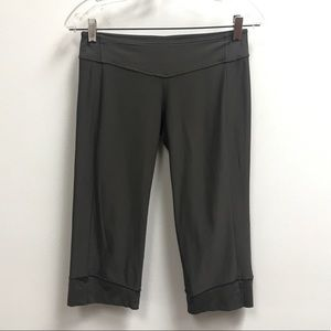 Lululemon Olive Bermuda Workout Shorts
